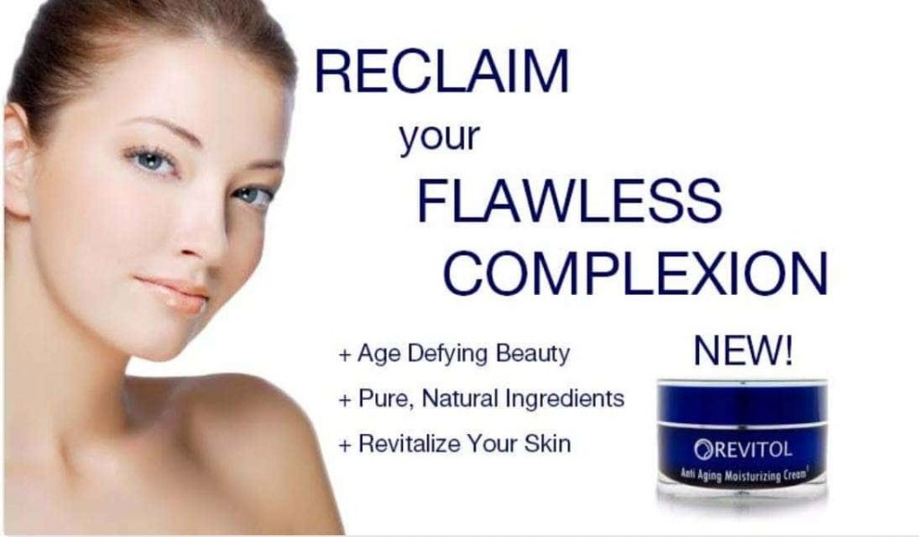 Revitol Anti Aging Cream Advert Image