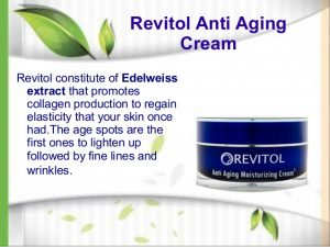 Revitol Ingredients and Text Image