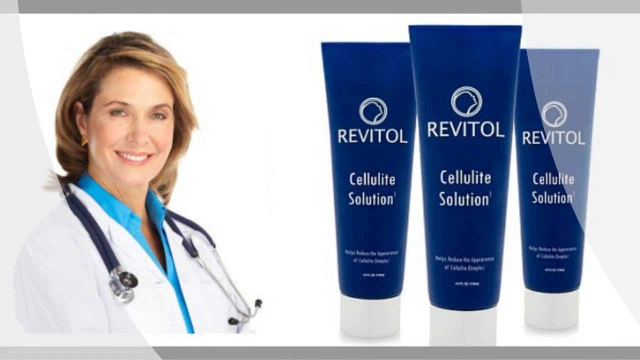 Revitol Cellulite Cream Treatment Image With Doctor