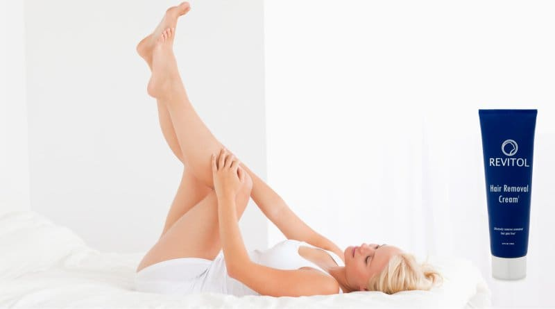 Revitol Hair Removal Cream Model Image
