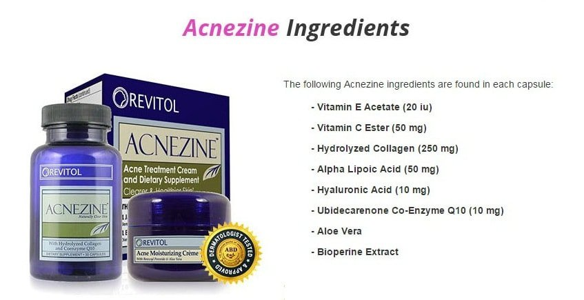 Acnezine Acne Cure By Revitol Professional Skin Care Revitol