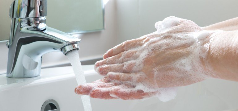 Washing your hands properly